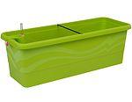 Samozavlažovací truhlík Gardenie 40 cm - hráškově zelená