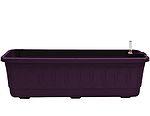 Samozavlažovací truhlík Fantazie 40 cm - fialová