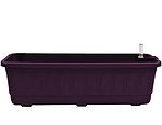 Samozavlažovací truhlík Fantazie 60 cm - fialová