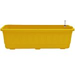 Samozavlažovací truhlík Fantazie 60 cm - žlutá