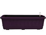 Samozavlažovací truhlík Fantazie 80 cm - fialová