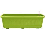 Samozavlažovací truhlík Fantazie 80 cm - hráškově zelená