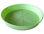 Miska Primevera 12 cm - hráškově zelená