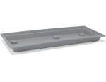 Miska Magnus 100 cm - kamenná šedá